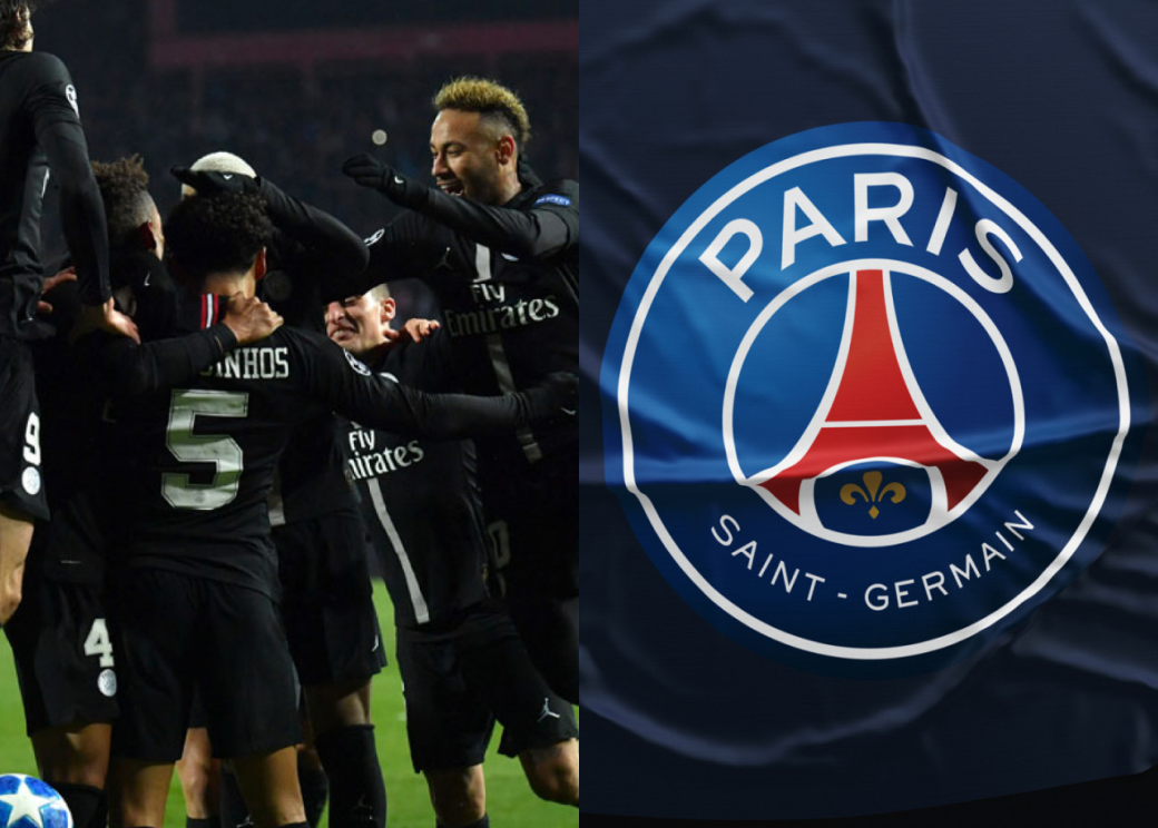 Сайт для первой в России детской футбольной академии Paris Saint-Germain